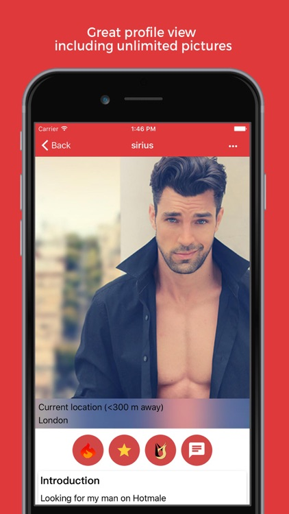Hotmale - Gay Social Dating screenshot-2