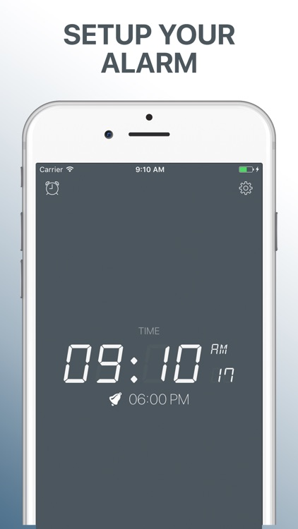 Alarm Clock: Shake to Wake Up NO SNOOZE!