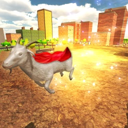 Crazy Flying Goat Adventure
