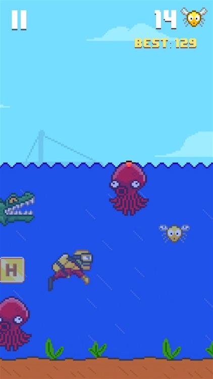 Hoppy Frog 2 - City Escape screenshot-3