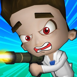 Kids Doctor Dash - Doctor Shooting Games for Kids