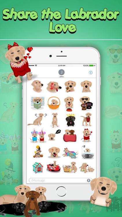 LabMoji - Labrador Retriever Emoji & Stickers screenshot-3