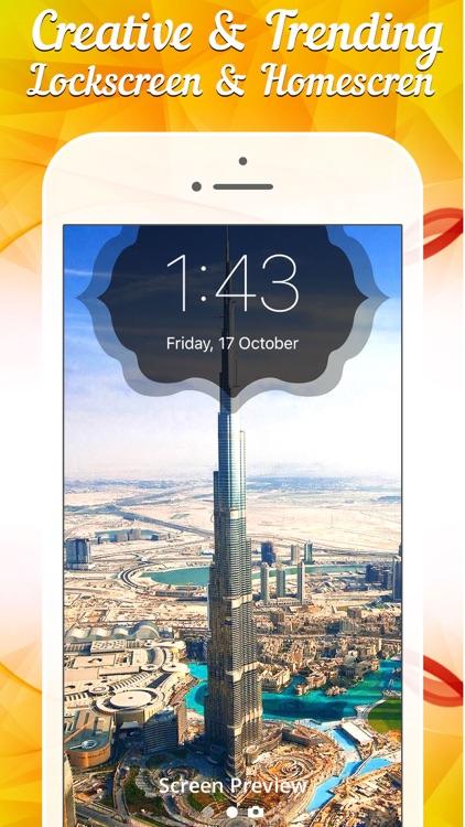 Lock screen Designer - Lockscreen Wallpapers Theme screenshot-3