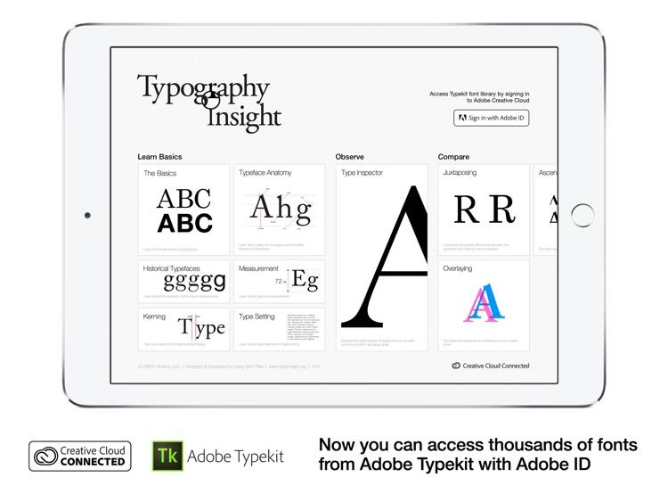 Typography Insight screenshot-0