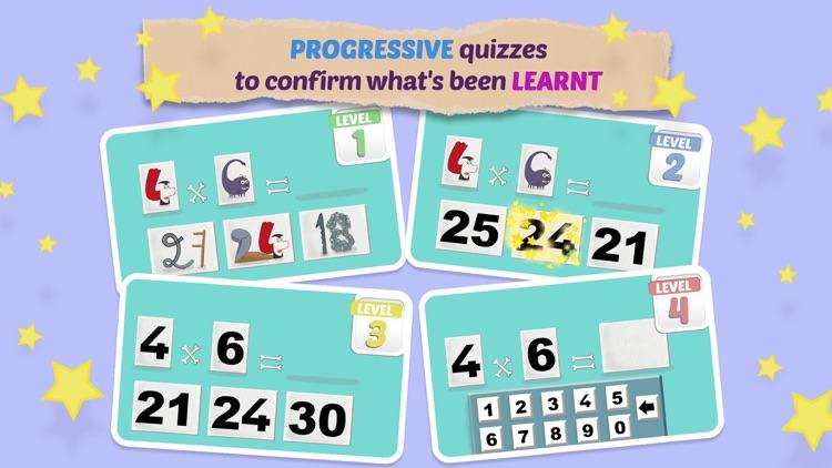 Mathemagics Multiplication screenshot-3