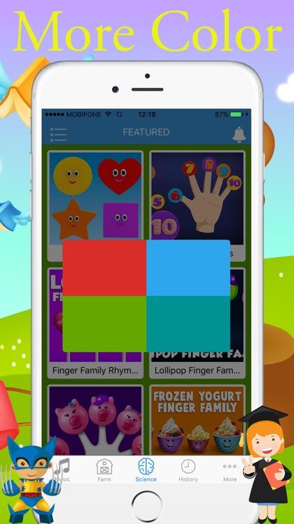 English For Kids - Music Video for YouTube Kids screenshot-3