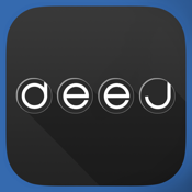 deej - DJ turntable. Mix, record & share your music icon