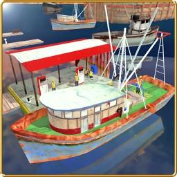 Fishing Boat Cruise Drive 3D