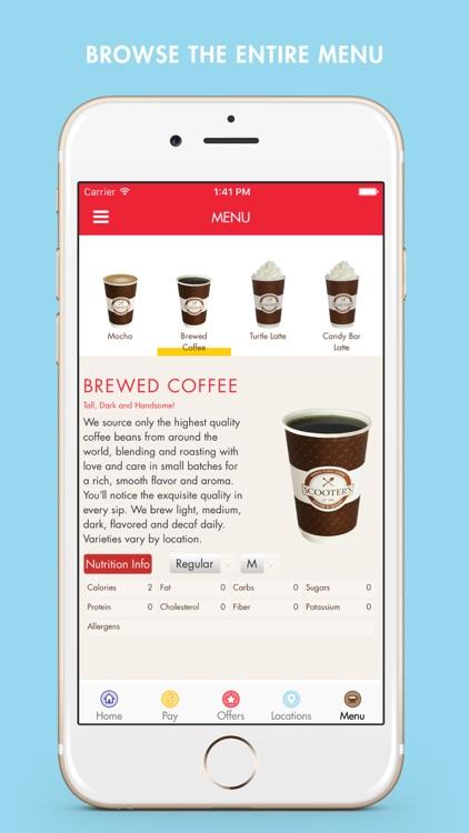 Scooter's Coffee screenshot-3
