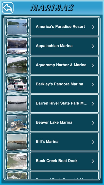 Kentucky State Marinas
