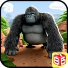 Gorilla laufen - Dschungel Surfer Spiel icon