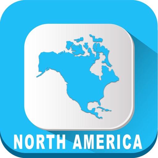 North America Travel - Map Navigation & Transport