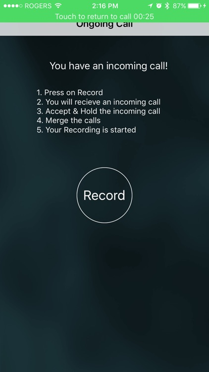 Automatic Call Recorder™ for Calls Made with app app image