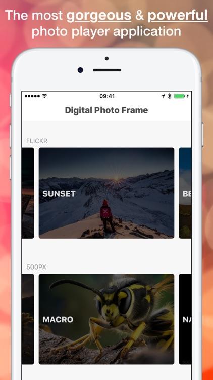 Digital Photo Frame - Premium