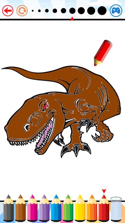 Dino Coloring Book - Dinosaur Drawing and Painting