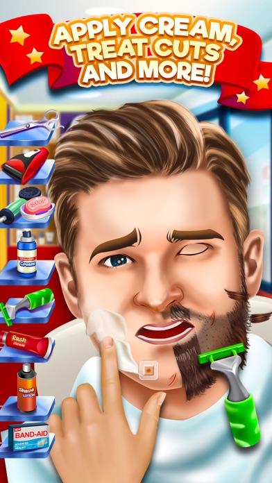Kids Shave Salon Celebrity Games (Girls & Boys) screenshot one