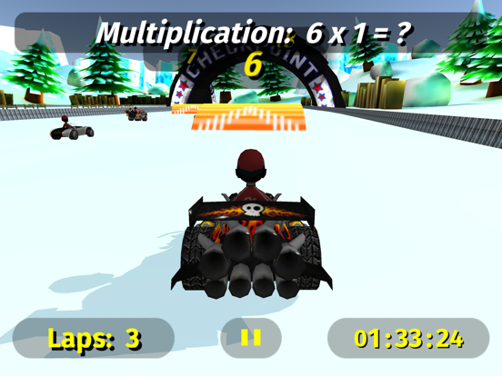Math Racing 2 Pro screenshot 8