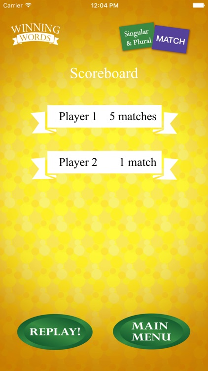 Singular and Plural Match screenshot-4