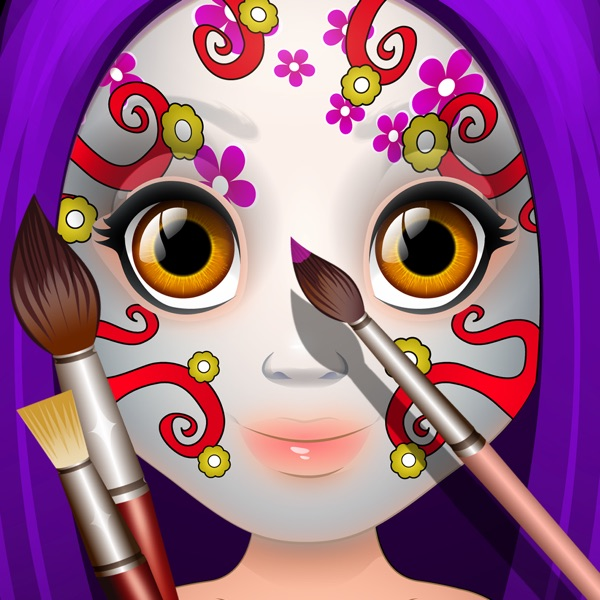Kids Face Paint Makeup & Spa Girls Salon Games on the App Store