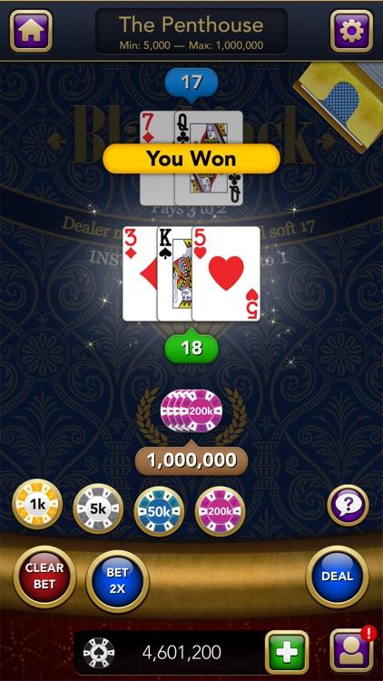 Blackjack – Casino Card Game screenshot-4