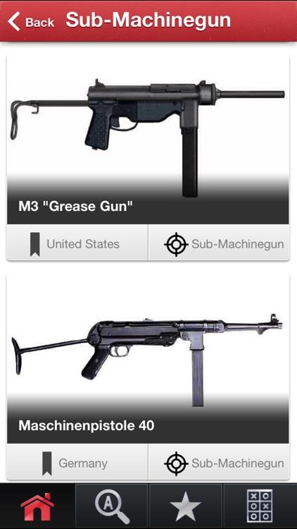 WW2 Infantry Weapons