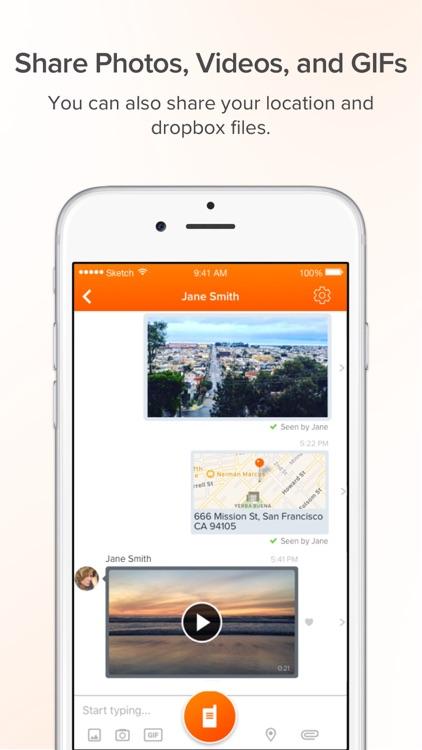 Voxer Walkie Talkie Messenger screenshot-3