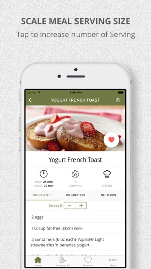 healthy breakfast recipes and shopping list on the app store