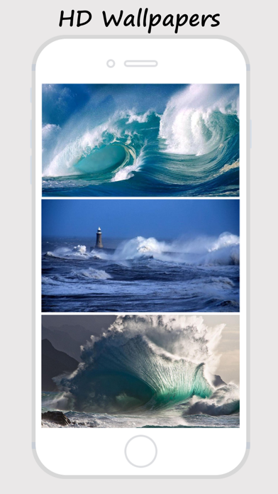 Waves Wallz - Collection Of Ocean Waves Wallpapers screenshot two