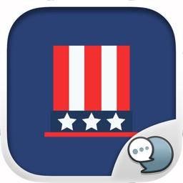 4th of July Stickers & Emoji Keyboard