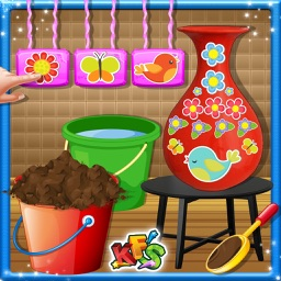 Create the Pottery & Maker- Painting Game