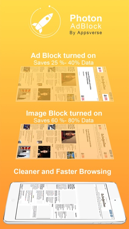 Photon Ad Blocker for Private Secret Browser App