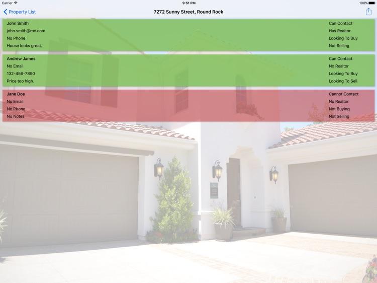 Open House Check-in screenshot-3