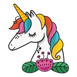 Animated Unicorn Stickers