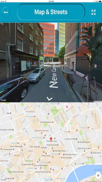 London UK City Offline Map Navigation EGATE screenshot-4