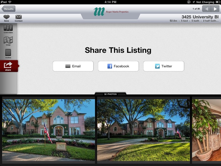 West University Real Estate for iPad screenshot-4