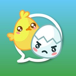 Chick' n' Egg - Cracking Stickers