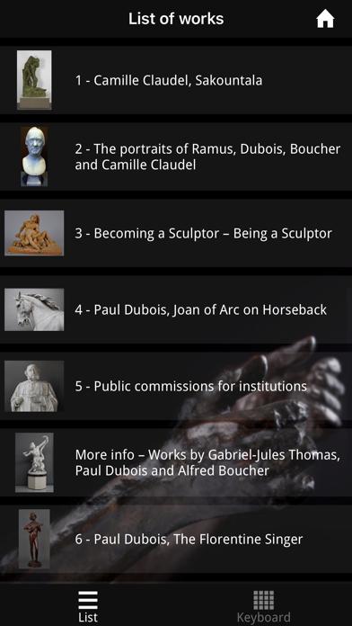 Camille Claudel Museum screenshot 3
