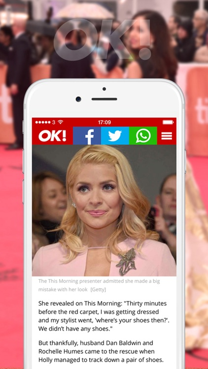 OK! Magazine - Celebrity News and Showbiz Gossip screenshot-2
