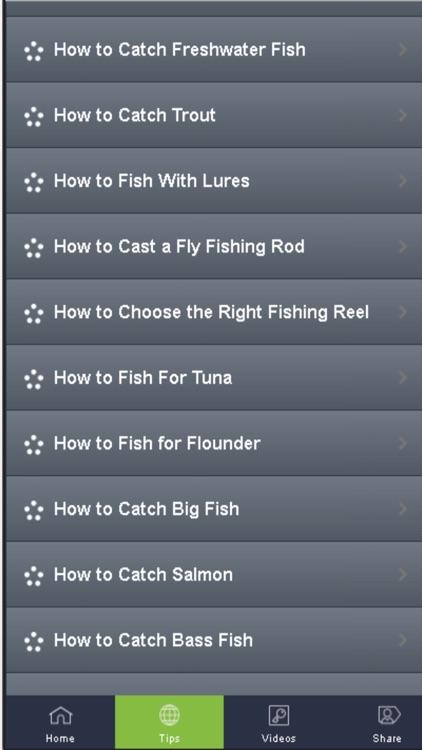 Fishing Tips - Learn How To Fish Easily screenshot-3