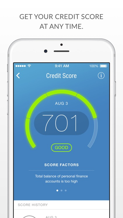 Prosper Daily - Money Tracking, Free Credit Score screenshot-3