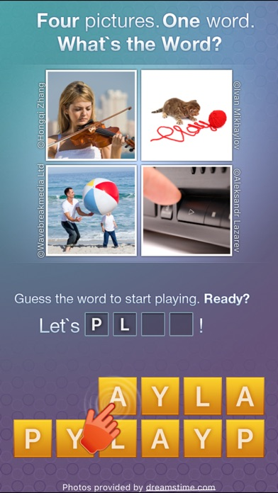 What's the Word? - words quiz