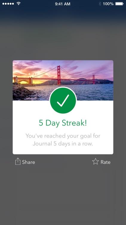 Strides: Habit Tracker for Daily & Life Goals screenshot-3