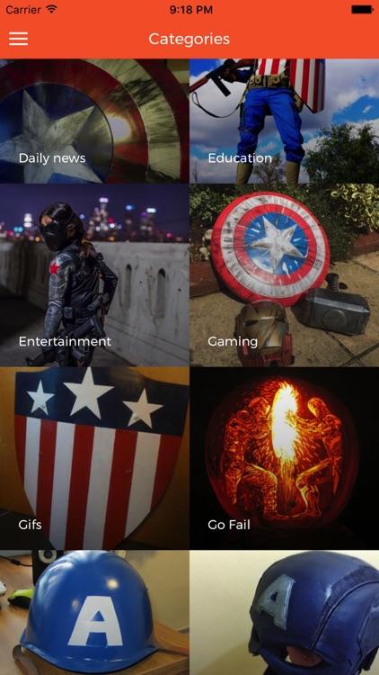 ACADEMY:For Captain America COMICS