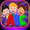 宝宝学英语 字母ABC 学习拼音 拼音字母歌 拼音卡片 基础 英语 少儿英语 学英文 游戏