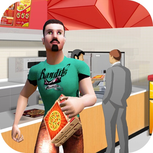 Pizza Shop Hero Run - Maker of Pizza Cooking Game iOS App