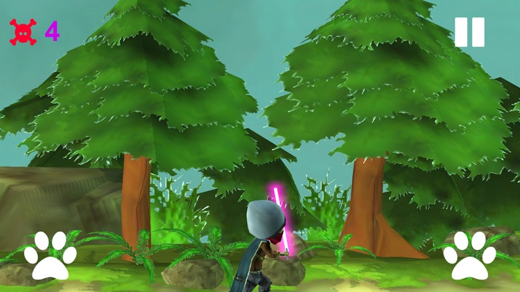 Ninja Fight With Zombies screenshot-3