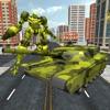 US Army Tank Transform Robot : Territory Wars