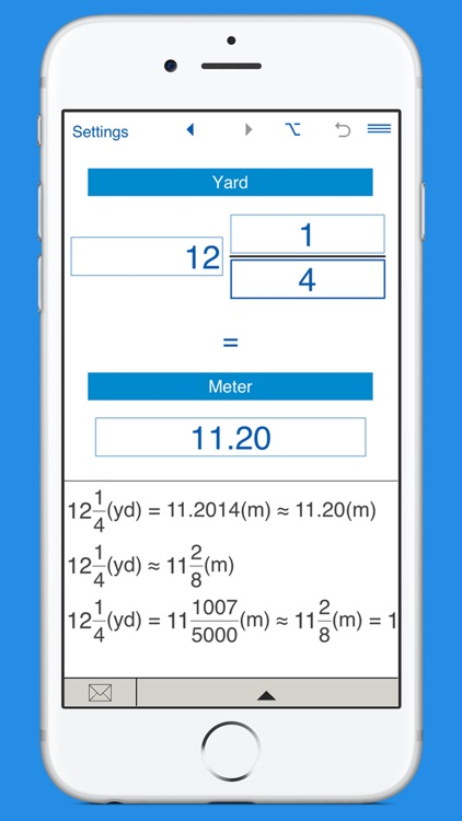 Yards to meters and meters to yards converter screenshot-1