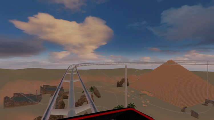 Roller Coaster Egypt - VR Virtual Reality screenshot-2
