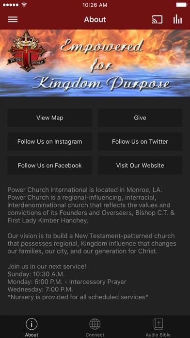 Power Church International App screenshot 1
